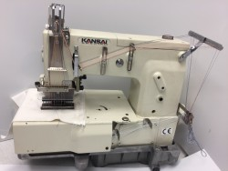KANSAI SPECIAL - 12 iğne lastik şerit makinası - 2.El