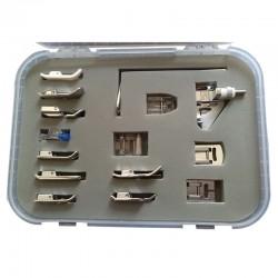 - 15 Parça Ev Tipi Dikiş Makine Ayak Seti (7mm)