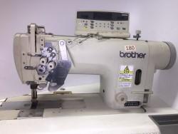 Brother - 8752 İptalli Büyük Mekik Kafadan Motorlu Elektronik Çiftiğne Makinası - 2.El