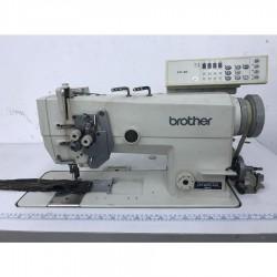 Brother - Brother LT2-B875-405 Mark II İptalli Büyük Mekik Elektronik Çiftiğne Makinası - 602 Motor - F40 - 2.El