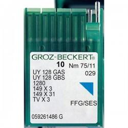 GROZ BECKERT - Groz UYx128 Reçme Makina İğnesi (Uzun)