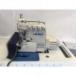 Juki - Juki MO-6714S-BE6-44H/G39/Q141 4 İplik Overlok Makinası - Havalı - İplik Kesmeli - Ayak Kaldırmalı - 2.El