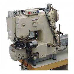 KANSAI SPECIAL - Kansai Special FBX-1104PAC Full Otomatik Kemer Makinası Zincir Dikiş