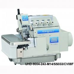 KİNGTEX - Kingtex UHD-9005-352-M16/US040/CV08F 5 İplik Orta Overlok, (Direct Drive, İplik Kesmeli, Ayak Kaldırmalı, Yüksek Devirli)