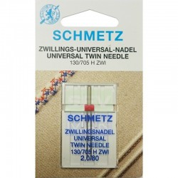 SCHMETZ - Schmetz Çiftli Nervür Aile Makina İğnesi