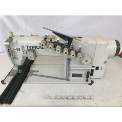 Typical - Typical GK0056D-6(6.4) 3 İğne Zincir Dikiş Makinası - 2.El