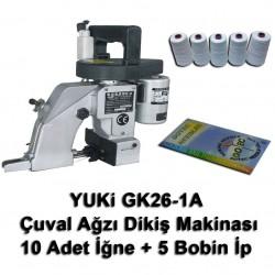 YUKI - Yuki GK26-1A Çuval Ağzı Dikiş Makinası + 10 Adet İğne + 5 Bobin İp