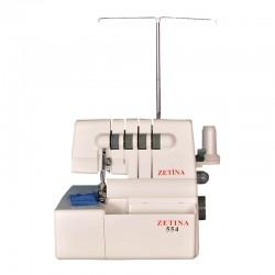 Zetina - Zetina DF554 Ev Tipi 3-4 İplik Overlok Makinesi (4 İplik Hediye)