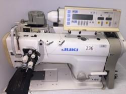 Juki - 3168 İptalli Küçük Mekik Çektirmeli Otomatik Çiftiğne Makinası - 2.El