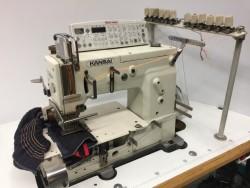 KANSAI SPECIAL - 6 iğne lastik şerit makinası - 2.El