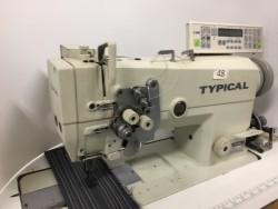 Typical - 6875 İptalli Büyük Mekik Otomatik Çiftiğne Makinası - 2.El