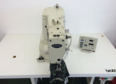 Brother 430D Direct Drive Elektronik Punteriz Makinası - 2.El