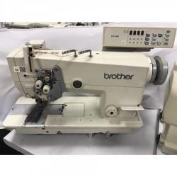 Brother - Brother 875-F-40 İptalli Büyük Mekik Elektronik Çiftiğne Makinası - F40 - 2.El