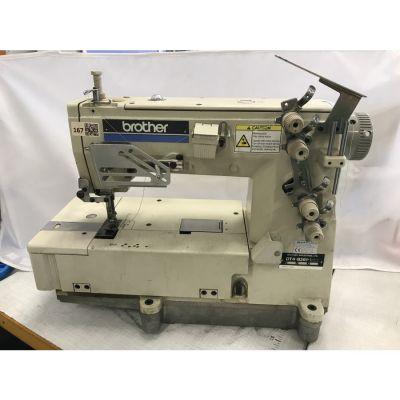 Brother DT4-B261-012-T Tek İğne Zincir Dikiş Makinası - 2.El