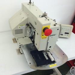 Brother - Brother KE-484C-X Elektronik Programlanabilir Kelebek Dikiş Makinası - 2.El