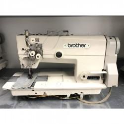 Brother - Brother LT2-B842-5 İptalsiz Küçük Mekik Mekanik Çiftiğne Makinası - 2.El