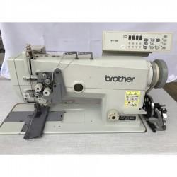 Brother - Brother LT2-B875-905 Mark II İptalli Büyük Mekik Elektronik Çiftiğne Makinası - 602 Motor - F40 - 2.El