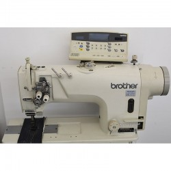 Brother - Brother T-8421A Direct Drive Elektronik Çiftiğne Makinası - 2.El