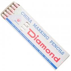 DIAMOND - Diamond Buharla Uçan İpli İşaret Kalemi (12'li Paket )