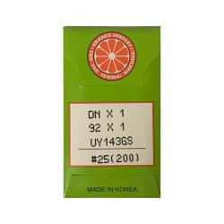 DOTEC - Orange DNx1 Çuval Ağzı İğnesi (10'lu Ambalaj)