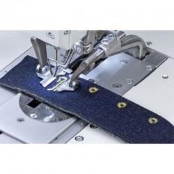 DURKOPP ADLER - Dürkopp Adler Multiflex, Elektronik Gözlü İlik Makinası Kot/Spor Pantolon Tipi Kısa İplik Kesmeli
