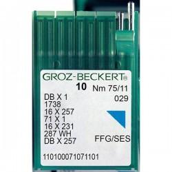 GROZ BECKERT - Groz DBx1 Düz Makina İğnesi (İnce Dip)