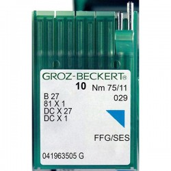 GROZ BECKERT - Groz DCx27 Overlok Makina İğnesi