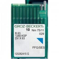 GROZ BECKERT - Groz DVx63 Reçme Makina İğnesi (Kısa)