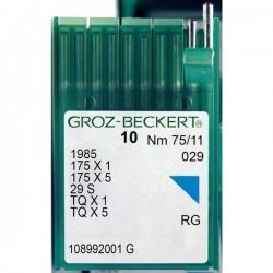 GROZ BECKERT - Groz TQx1 Kısa Düğme Makina İğnesi