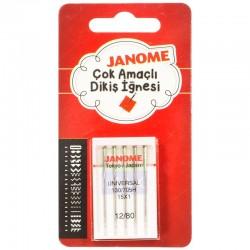 Janome - Janome 15x1 Standart Aile Makina İğnesi (5'li Paket)