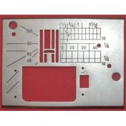 Janome - Janome MC11000SE Bilgisayarlı Dikiş Makina Plakası