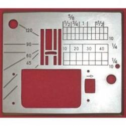 Janome - Janome MC6600 Elektronik Dikiş Makina Plakası