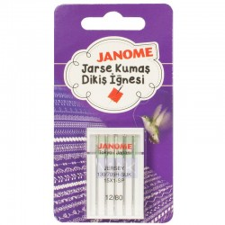 Janome - Janome Yuvarlak Uçlu (Jarse) Ev Tipi Makine İğnesi (5'li Paket)