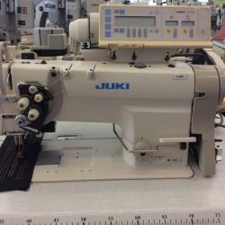 Juki - Juki LH-3168-7 Elektronik İptalli Çift İğne Dikiş Makinası - 2.El