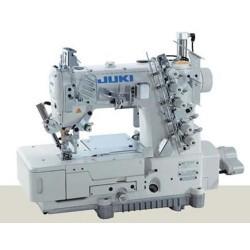 Juki - Juki MF-7723-U10-B56/UT33/SC921CN/M51/CP18 Elektronik, Düz Yataklı, Üç iğneli, Karyokalı Etek Reçme Makinası