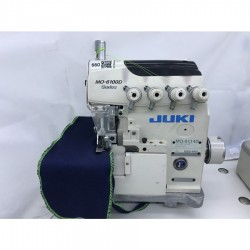 Juki - Juki MO-6114D-BE6-44H/G39/Q141 4 İplik Overlok Makinası - Yağsız - 2.El