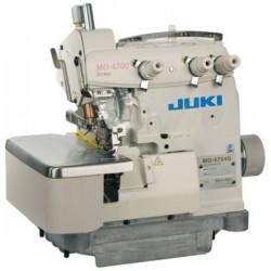 Juki - Juki MO-6704S-OE4-40H/LB6/AB2/IPG 3 İplik, Yarı Otomatik Kıstırmalı Overlok Makinası