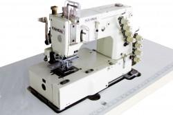 KANSAI SPECIAL - Kansai DFB-1404-WB 4 İğne Lastik Zincir Dikiş Ayak Hareketli (8.5mm) Kavramalı Motor