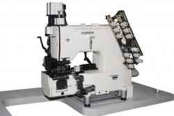 KANSAI SPECIAL - Kansai FBX-1104-PAC Full otomatik Kemer Zincir Dikiş Makinası