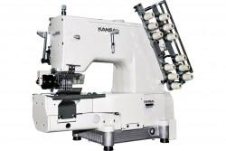 KANSAI SPECIAL - Kansai FBX-1106-P Kemer İğne Trans. Zincir Dikiş (İğne Aralıkları Değiştirilebilir) Kavramalı Motor