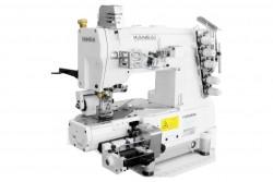 KANSAI SPECIAL - Kansai RX-9803-DWD Burunlu Çift Renk Zebra Dikiş Kavramalı Motor