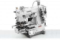 KANSAI SPECIAL - Kansai RX-9803-PGHK/UTC-A Tüp Lastik (Boxer) Reçme Sağ Bıçaklı İplik Kesicili + Servo Motor