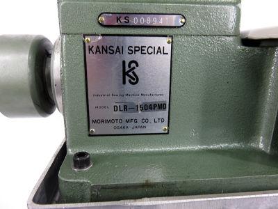 Kansai Special DLR-1504PMD Çektirmeli Merdaneli 4 iğne Lastik Makinası