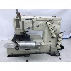 Kansai Special - Kansai Special DLR-1508P 4 İğne Kot Kemer Makinası - 2.El