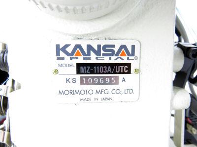 Kansai Special MZ-1103A-UTC İnce Burunlu İplik Kesicili Reçme