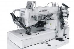 KANSAI SPECIAL - Kansai WX-8803-F-33L-TKE Bant Reçme Biye Kesicili (KAVRAMALI MOTOR)
