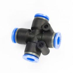 Kingstar - Kingstar 4'lü 6 mm Geçmeli Bağlantı