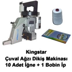 Kingstar - Kingstar GK26-1A Çuvalağzı Dikiş Makinası + 10 Adet İğne + 1 Bobin İp