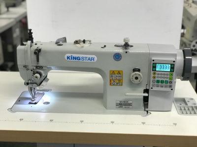 Kingstar SK-0303-D4 Çift Papuç İplik kesicili Kafadan motorlu Deri Dikiş Makinası