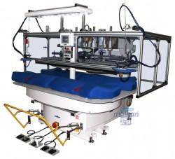 Malkan - Malkan KAR10A11A Karusel Sistem, Ceket Sadafodra Ve Kıl Tela Yapıştırma Ütü Presi (Sağ - Sol Bir Ünite)